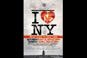 "Motor City Dance Factory Recital ""I Love New York"""