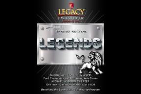 "Legacy Dance Studio, LLC presents ""Legends"" 3rd Annual Spring Recital"
