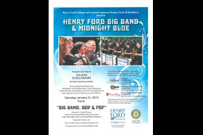 "Henry Ford Big Band & Midnight Blue ""Big Band, Bop & Pop"""