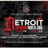 "Motor City Dance Factory 2016 Recital ""The Spirit of Detroit"""