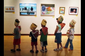 Visual Arts Experience - Ages 7 - 11 Class Registration
