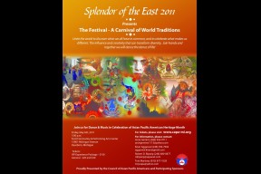 "Council of Asian Pacific Americans 2011 ""The Festival - A Carnival of World Traditions""."