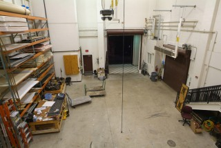 Scene Shop & Loading Dock Door.