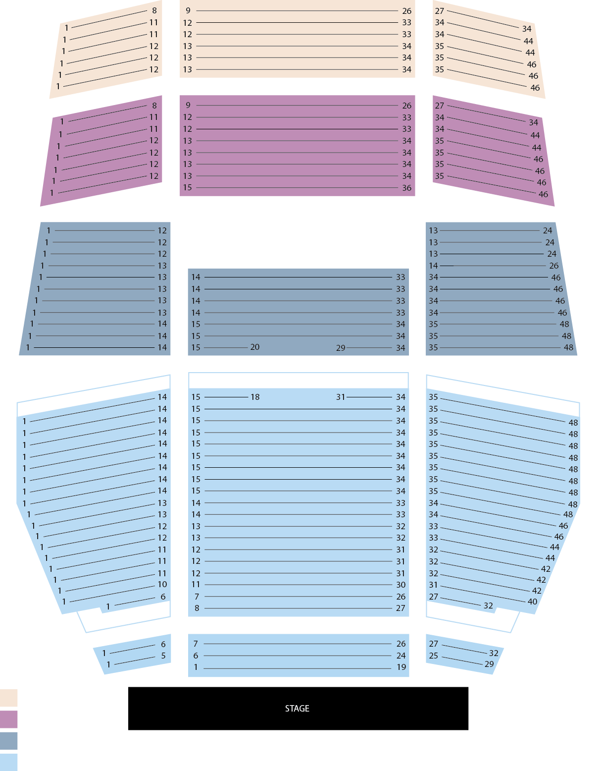 Shows Tickets Seating Chart Eku Center For The Arts