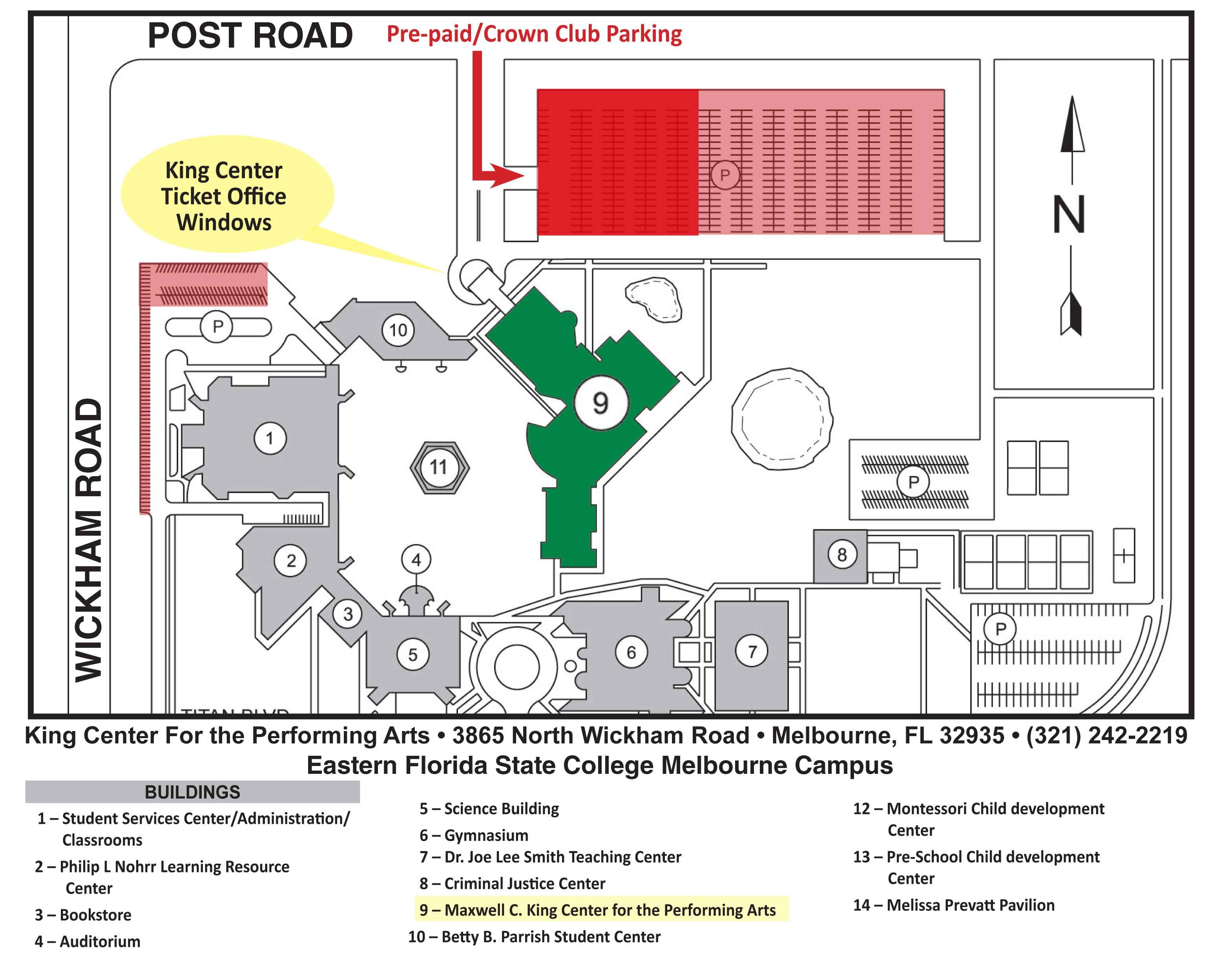 directions parking maxwell c king center for the performing arts. Black Bedroom Furniture Sets. Home Design Ideas
