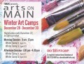 Winter Art Camps at Arts on Main