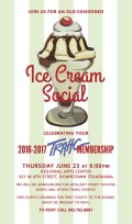 TRAHC's 2016-2017 Membership Party - Ice Cream Social