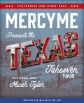 MERCYME Texas Takeover Tour