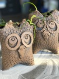 Clay Owl Planter Workshops with Chris Thomas