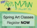 Spring Art Classes at Arts on Main