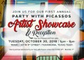 Party with Picassos Artist Showcase & Reception