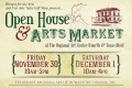 10th Annual Open House & Holiday Arts Market