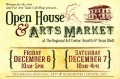11th Annual Open House & Holiday Arts Market