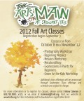 Arts on Main Fall Classes