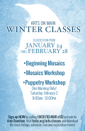 Arts on Main Winter Classes