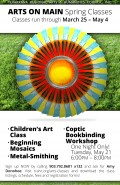 Arts on Main Spring Classes