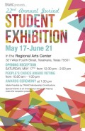 TRAHC's 22nd Annual Student Juried Exhibit Opening Reception