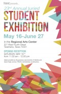 TRAHC's 23rd Annual Juried Student Exhibition