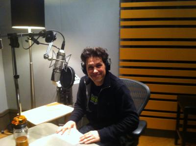 Rick recording Jacob Two-Two