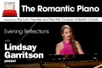 The Lyric Living Room Series: The Romantic Piano: Evening Reflections